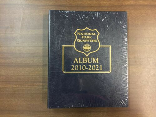 Whitman Classic Album # 3056 For National Park Quarters DATE SET from 2010-2021