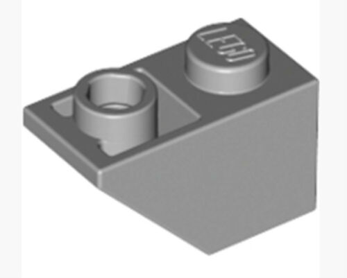 3665 LEGO Roof Tile 1x2 Inv /_Medium Stone Grey /_4211437 Lot of 25
