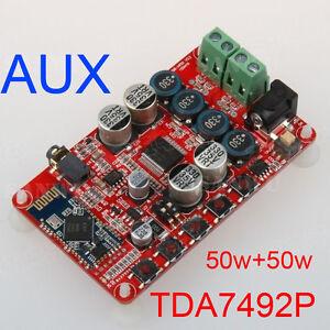 TDA7492P-50W-2-Wireless-Bluetooth-4-0-Audio-Receiver-Digital-Amplifier-Board-AUX