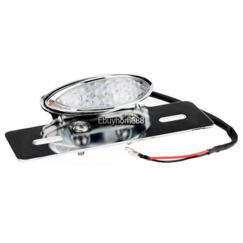 New Car Light 12V 19 LED Motorcycle Brake Tail License Plate Light EHE801 01