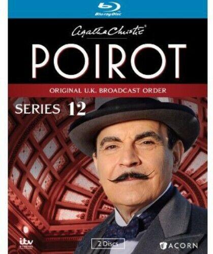 Agatha Christie s Poirot, Series 12 Blu-ray David Suchet, Hugh Fraser, Philip - $30.16