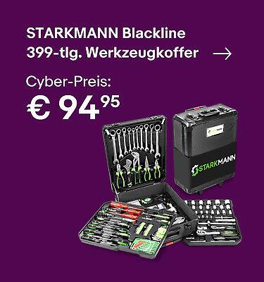 STARKMANN Blackline  399-tlg. Werkzeugkoffer