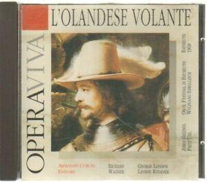 L'OLANDESE VOLANTE Opera Viva CD Audio Musicale