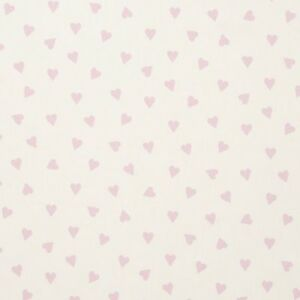 Clarke-and-Clarke-Studio-G-Pink-Hearts-Design-Curtain-Upholstery-Craft-Fabric