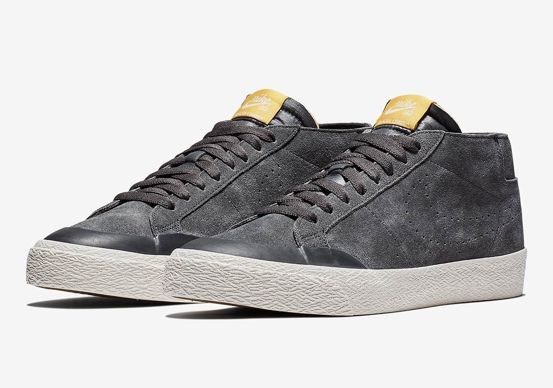 Nike MEN'S SB Zoom Blazer Chukka XT LANCE MOUNTAIN SIZE 10.5 BRAND NEW Cool Grey