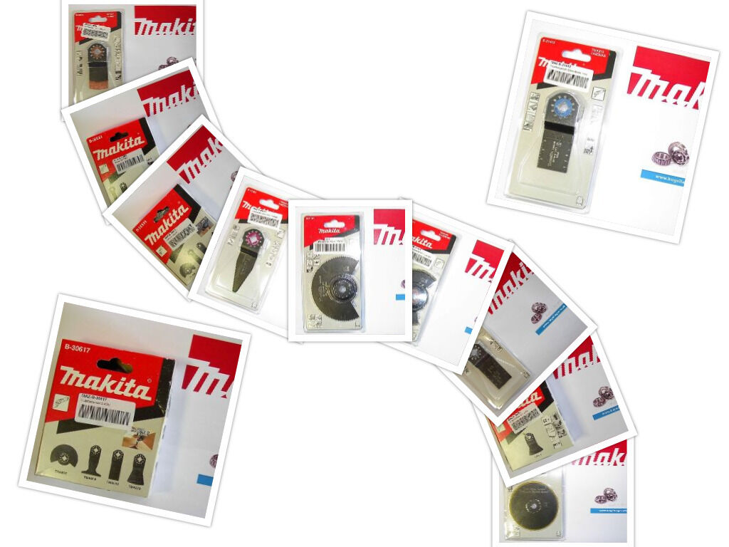 Multifunktionswerkzeug Makita TM3010CX4J TMA025 TMA022 TMA016 TMA021 BIM HM HCS