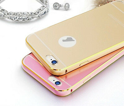 Luxury Aluminum Metal Frame & Acrylic Back Case Cover For Apple iPhone 6 4.7""