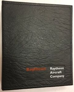 Raytheon Aircraft Co. (Beech) Heavy Duty 6 Ring Binder With Divider Tabs