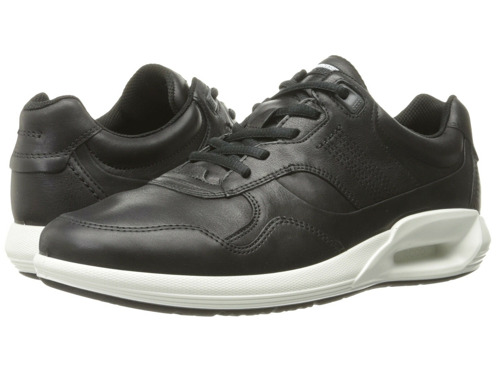 1c441ec1570263 Ecco Men s CS16 CS16 CS16 Sz US 11 M EU 45 Black Leather Low Sneakers shoes