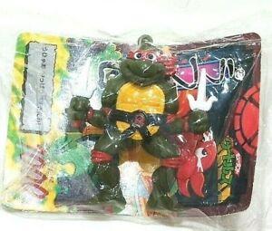 Japão Teenage Mutant Ninja Turtles Raphael Boneco Chaveiro Brinquedos do cartão de jogo