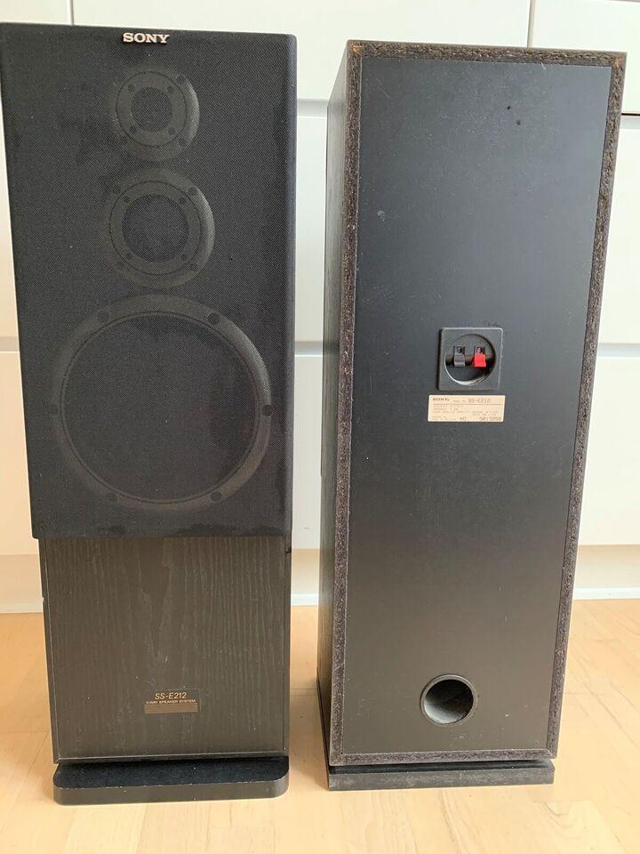 Højttaler, Sony, SS-E212