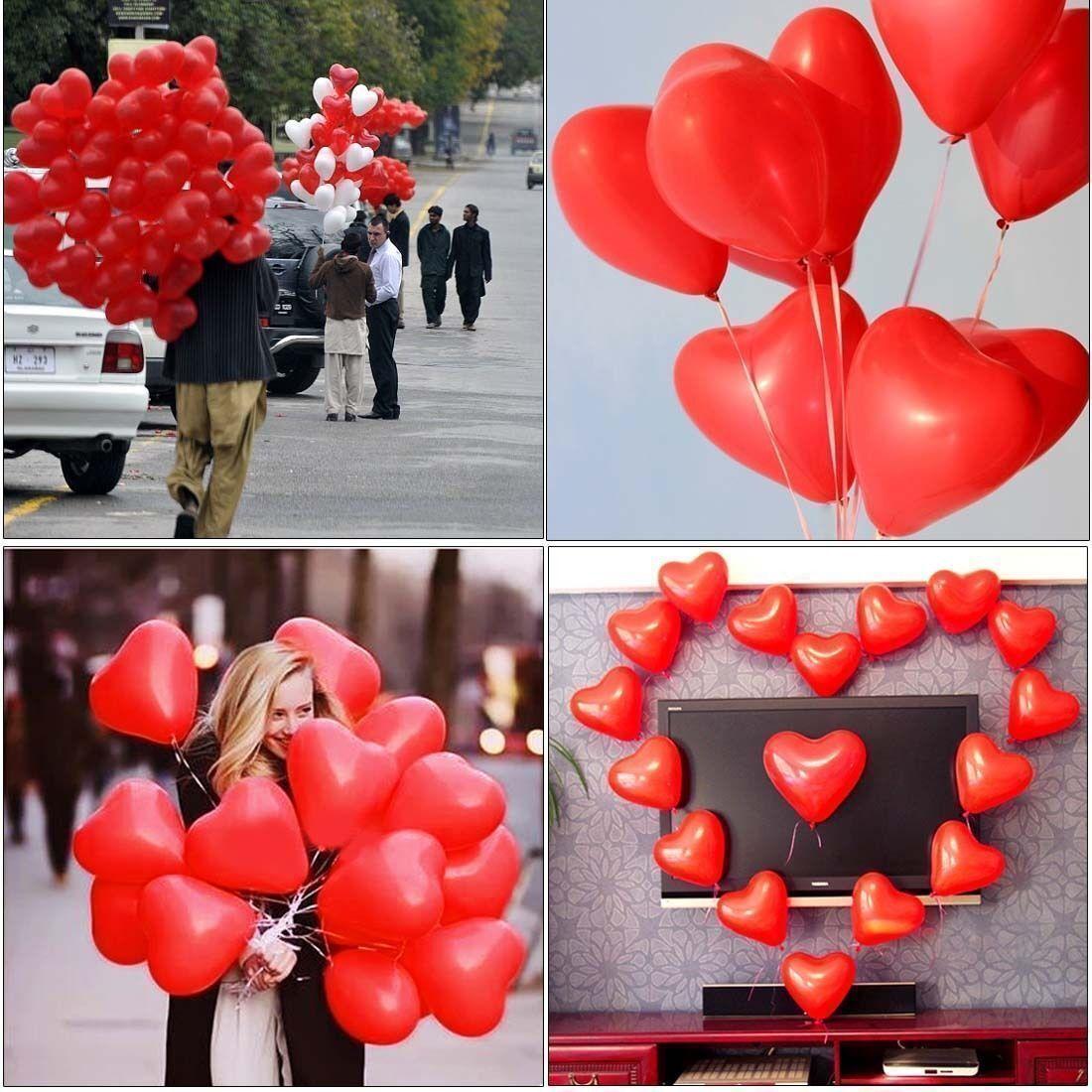 NUOVO all'ingrosso Rosso Amore Cuore Cuore Cuore Palloncini Festa Matrimonio Romantico bolla Forma numerazione di riferimento cd0b92