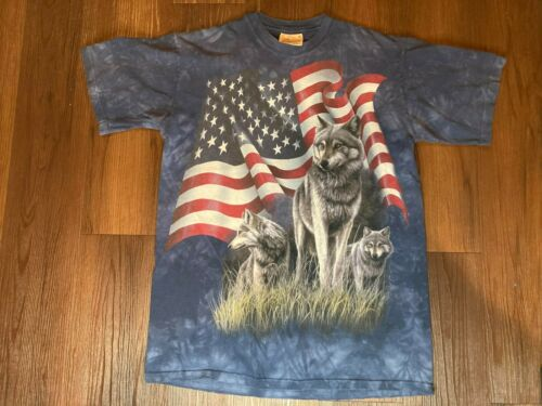 Wolf Dream Flag Pick Your Size T Shirt 7 X Large14 X Large