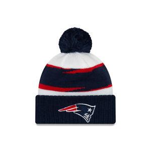 ef92064f7e2d5 New England Patriots New Era 2018 Mens NFL Thanksgiving Day Knit Hat ...
