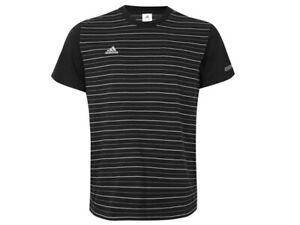 Details zu Adidas Real Madrid herren gestreift t shirt