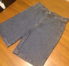 Quiksilver 32 Jean Shorts Cotton Dark Long Summer