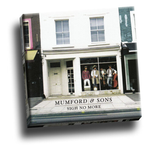 Sigh No More Giclee Canvas Album Cover Picture Art Mumford /& Sons