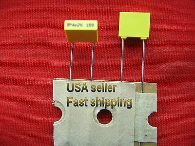 0.0047uf, 4700pf, 4.7nf 630v  5/% tol  metalized film caps 50 pcs .0047uf