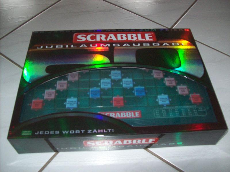 Scrabble aniversario edición 60 años top gran regalo difíciles de conseguir