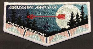 AWAXAAWE-AWACHIA-OA-LODGE-535-BSA-TRAPPER-TRAILS-COUNCIL-INDIAN-CHOKER-FLAP-TUF