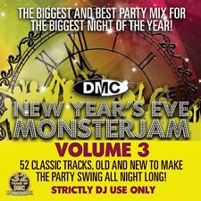 DMC New Years Eve Monsterjam Vol 3 Megamix Music DJ CD Mixed Countdown