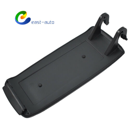 Leather Armrest Center Console Lid Cover Fit for 2004-08 Audi A4 S4 B7 Black hf