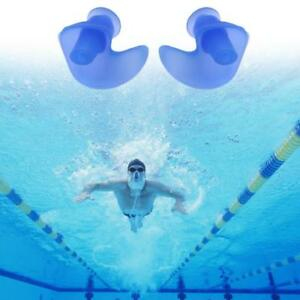 1Pair-Waterproof-Swimming-Silicone-Ear-Plug-Protector-Ear-Plugs-Kids-Adults-AU