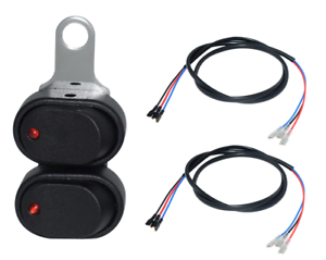 Motorcycle-Boat-Car-Controller-Switch-Horn-Lights-Fog-Turn-Start-with-48-034-Wire