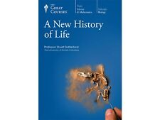 New The Great Courses:A New History of Life 6 DVD and Course Guidebook Sealed