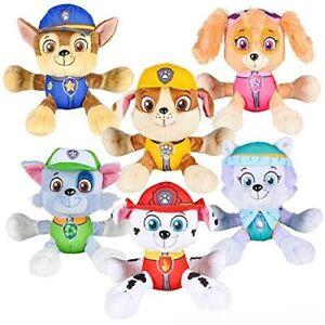 New 6 Paw Patrol Plush Stuffed Animal Toy Chase Rubble Everest