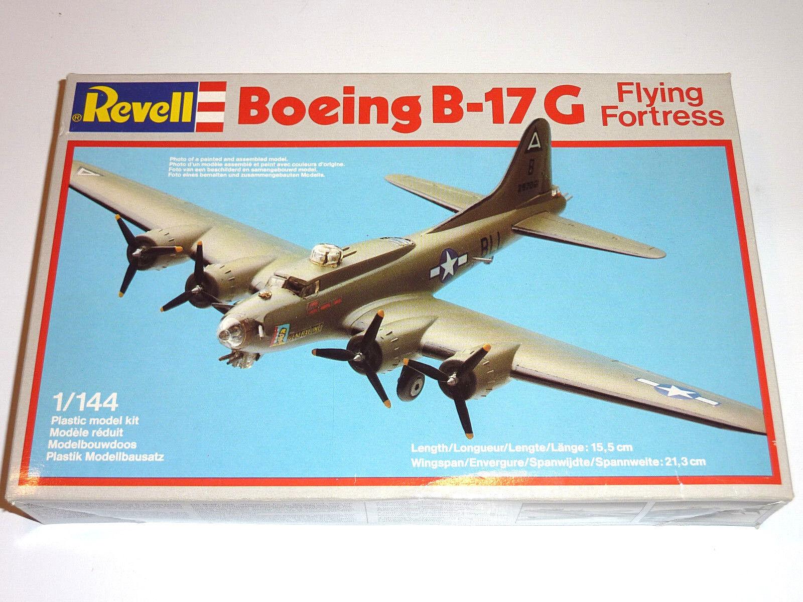 REVELL 4136 BOEING B-17 G FliegenING FORTRESS 1 144 ALT OLD ZEER OUDE KIT OVP (1982)