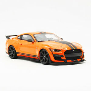 Maisto 1:18 2020 Ford Mustang Shelby GT500 Orange Diecast ...