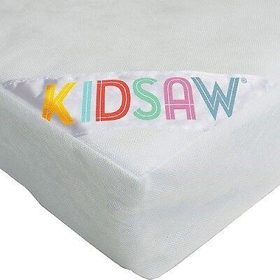 Kidsaw childrens kids kidz fibre safety junior mattress 10x70x140cm