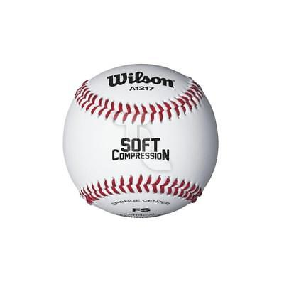Einfach Wilson Soft Compression Level 1 Baseball Wta1217b Neu Noch Nicht VulgäR Bälle Weitere Ballsportarten