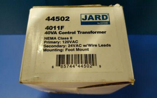 SEC 24V JARD 40VA CONTROL Transformer 4011F PRI 120V