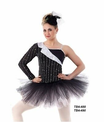 Child Large IVORY Ballet Tutu Dance Costume CHERISHED