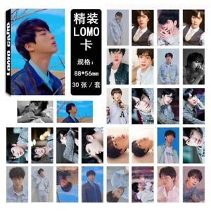 30Pcs-set-KPOP-Bangtan-Boys-JIN-Album-LOVE-YOURSEL-Tear-PhotoCard-Lomo-Card