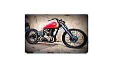 1947 Ariel Red Hunter Bike Motorcycle A4 Photo Poster