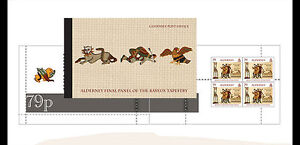 ALDERNEY 2014 The Bayeux tapestry PRESTIGE BOOKLET !!