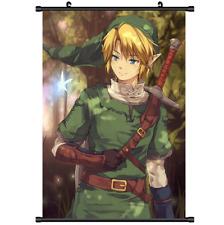Game The Legend of Zelda no Densetsu Mujura no Kamen Wall Poster Scroll 3274