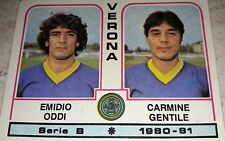 FIGURINA CALCIATORI PANINI 1980/81 VERONA N° 530 ALBUM 1981
