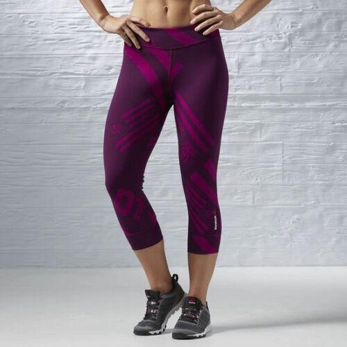 Women/'s Reebok CrossFit Nylux Capri S94590