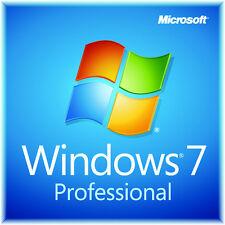 Microsoft Windows 7 Professional 32/64 Bit 100% Genuine Fast Download Online
