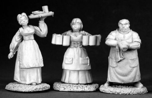 Townsfolk I 02583 - Dark Heaven Legends - Reaper MiniaturesD&D