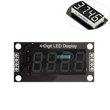 036 Tm1637 7 Segment 4 Bit Digital Tube Led White Display Module For Arduino