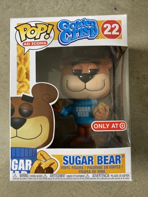 Funko Pop! Golden Crisp Sugar Bear # 22 Vinyl Figure Ad Icon Target Exclusive