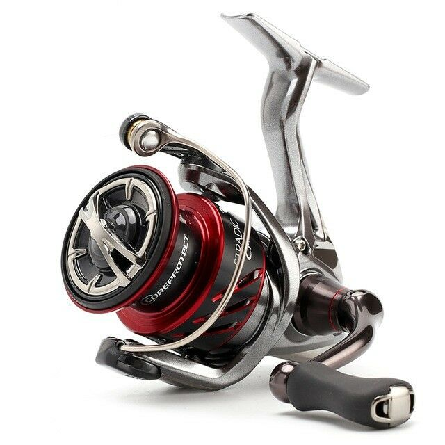 Shimano Stradic CI4+ 2500 FB, Spinnrolle mit Frontbremse, STCI42500FB