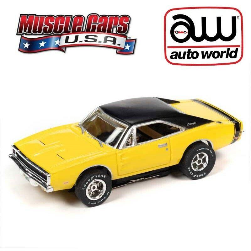 Auto World SC357-1 Thunderjet Sam Posey 1970 Dodge Challenger HO Scale Slot Car