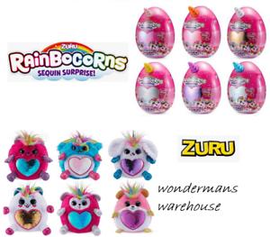 Rainbocorns Sequin Mystery Surprise Egg Unicorn Pet by Zuru - Brand New