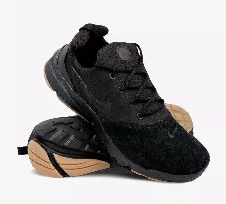 Nike Presto FLY Prm Premium (GS) Youth AR0127-001 Nero Nero Nero EU 38.5 US 6Y NUOVO 81da4a